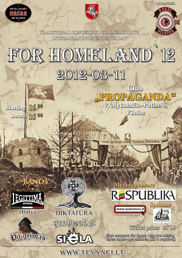 for homeland 2012