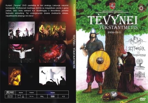Tevynei - Tūkstantmetis DVD